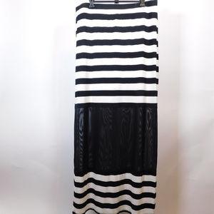 Seven 7 Women's Maxi Skirt L CL2440 1119